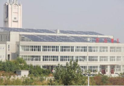 潍坊理工学院太阳能洗浴系统