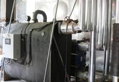 昌乐中百大厦:2台BV-100,百货大厦供暖