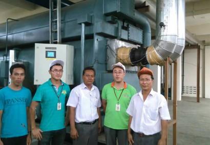 印度尼西亚棉兰咖啡厂0.6MPa蒸汽型双效吸收式冷水机组