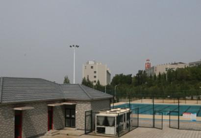潍坊理工学院游泳池供热水工程
