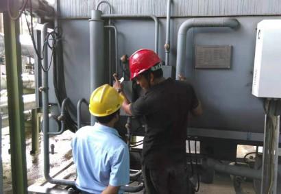 印度尼西亚金光集团造纸厂880kW蒸汽单效吸收式冷水机组