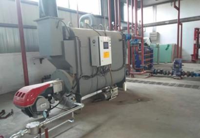 潍坊大胜镇沼气发电项目:1台VB-100,用于沼液加热