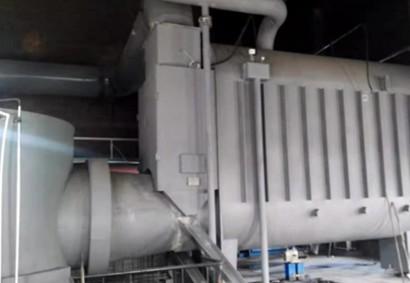 哈尔滨松江铜矿:2台BVB-600,供暖面积10万㎡