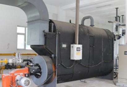 昌乐实验中学:一台BV-350,一台BV-400,整个学校供暖