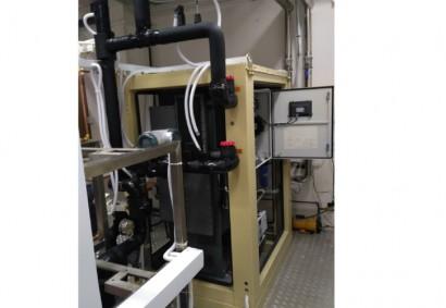 新加坡国立大学23kW集成吸收式冷水机组,该机组用于新加坡国立大学能源实验室的实验平台