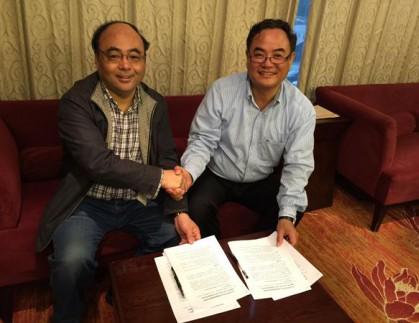 我公司与山东大学签署863计划项目示范基地协议