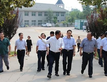 山东省煤炭工业局、潍坊市经信委、潍坊市环保局一行到我公司调研指导工作