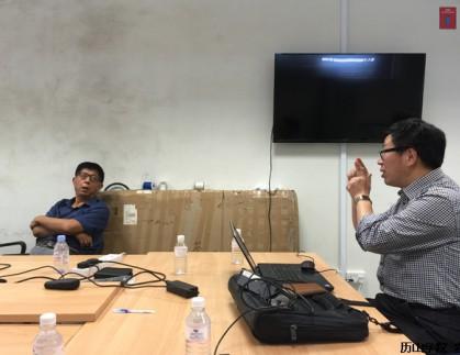 金德禄教授一行赴新加坡南洋理工大学进行交流访问